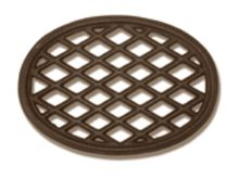 Brown Lattice Trivet