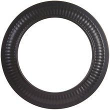 Black Trim Collar for Stove Pipe
