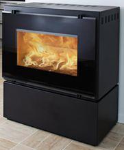 HWAM 3055 Freestanding Wood Fireplace