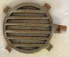 Round Stove Grate with Shaker 8-3/4 inches