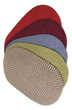 Braided Hearth Rugs - Various Colors