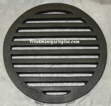 Round Stove Grate with Shaker 13-1/4
