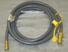 12' Quick Disconnect Natural Gas Hose