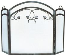 Maple Leaf Fireplace Screen