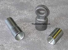 Chimney Rod Couplings, Pull Rings, Reducers