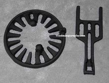 Round Dump Stove Grate, 7 1/4 inches