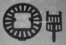 Round Dump Stove Grate, 10 1/4 inches