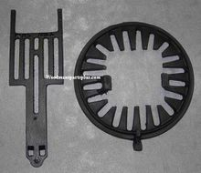 Round Dump Stove Grate, 10 3/4 inches