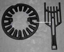 Round Dump Stove Grate, 11 3/8 inches