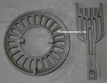 Round Dump Stove Grate, 12 1/2 inches