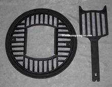 Round Dump Stove Grate, 16 1/2 inches