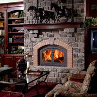Classic Arch Model 44 Elite- Wood Fireplace