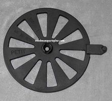 Round Stove Grate with Shaker 8-1/2