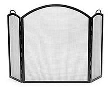 Arched Tri-Folding Fireplace Screen