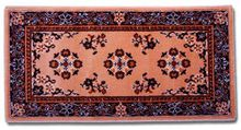Beige Oriental Hearth Rug