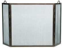 Flat Twisted Rope Fireplace Screen