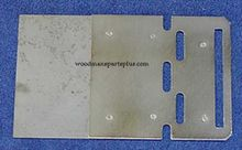 Harman Stove Slide Plate Assembly