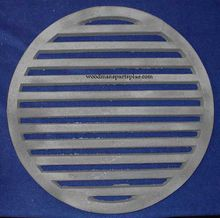 Round Stove Grate with Shaker 18
