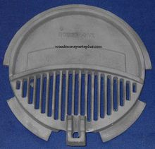 Round Shaker Stove Grate, 15 inches