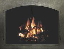 Bar Iron Columbia Fireplace Door