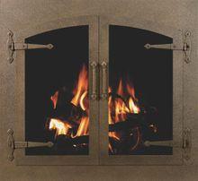 Bar Iron Arch Conversion Fireplace Doors