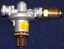 High Pressure Gas Grill Regulator With P.O.L.