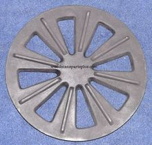 Round Stove Grate with Shaker 7-1/4
