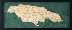 Jamaica Woodchart