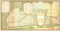 Antique Map of Ft. Septentrional 1749