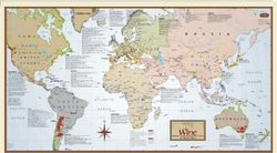 World Wine Region Map