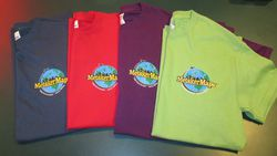 Metsker Maps T-Shirt, 4 colors - Choose Color and Size