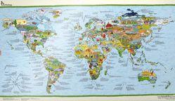 Football (Soccer) World Map