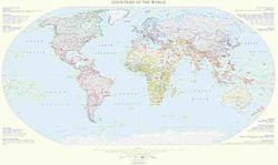 Political World Wall Map l Raven Maps
