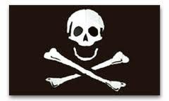 Jolly Roger, Pirate Flag - Choose Size