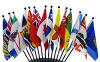 Canada Mini Flags (Provinces & Territories)