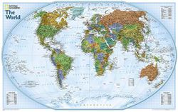 Explorer World Map by National Geographic
