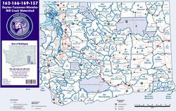 GMU Maps/Hunting Maps for Washington State - Choose from the List