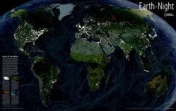 Earth at Night by National Geographic