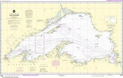 Nautical Chart 14961 - Lake Superior