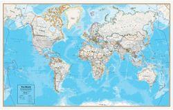World Contemporary Map