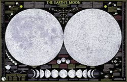 Moon Map Poster by National Geographic