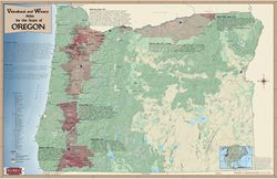 Oregon Wine Region Map