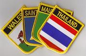 Flag Patches A - Z - Choose from the List