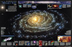Milky Way Poster by National Geographic