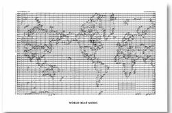 World Beat Music Map