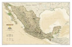 Mexico Wall Map - Executive Series by National Geographic