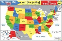 U.S. Write-A-Mat Placemat