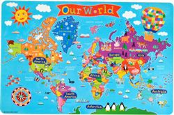 World Kids Placemat by Round World Products