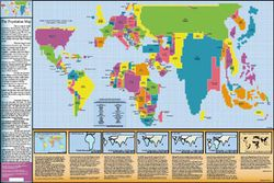 World Population Map by ODT