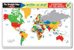 World Write-A-Mat Placemat